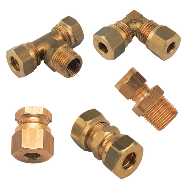 Imerial brass compression fittings accessories series