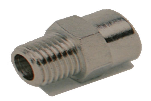 Male x Female Adaptor BSPT M x BSPP F
