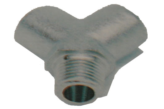 Y Connector Female BSPP x Male BSPT-Inlet