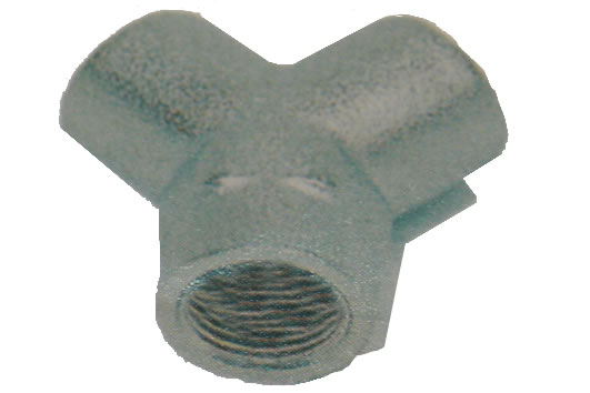 Y Connector Female BSPP