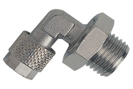 Swivel Male Stud Elbow - BSPP