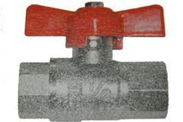 T Handle Ball Valve - Female x Female BSPP