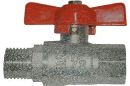 T Handle Ball Valve - Male BSPP x Female BSPP