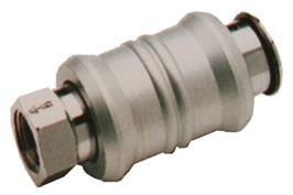 Slide Valve - On/Off Type Brass