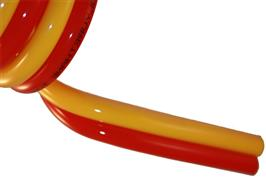 Polyurethane Recoil Twin Hose Red/Yellow
